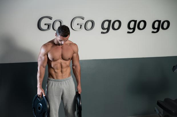'At the moment, it's all about the six pack, and the big upper body look'