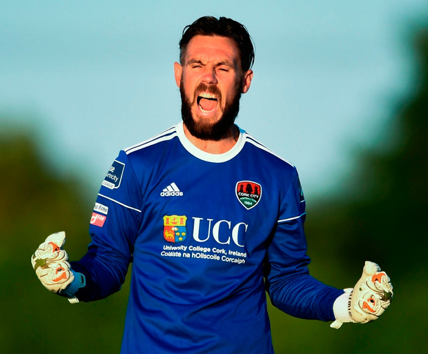 Cork goalkeeper Mark McNulty. Photo: Ben McShane/Sportsfile