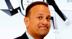JOKE'S ON YOU: Varadkar, who has expressed sympathy for Trump, raised serious questions about his judgment