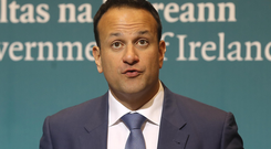 'Leo Varadkar dumped on our valiant fourth estate at a private lunch in New York by telling bemused guests that he was on Team Trump when it came to fake news. Or some such.' Photo: PA