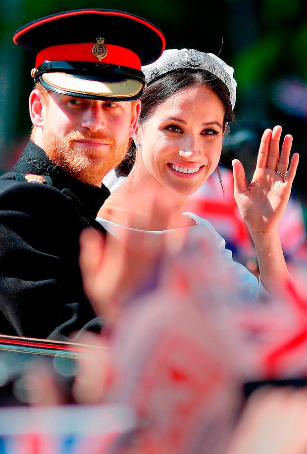 IRELAND'S ROYAL SEAL OF APPROVAL: Visits by the British royals, like Prince Harry and wife Meghan Markle, have come to feel encouragingly unremarkable and not controversial. Photo: Getty Images