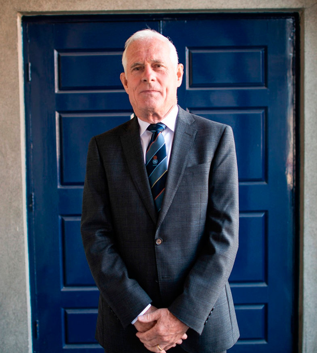 PEACEKEEPER: Colonel Colm Doyle is now retired