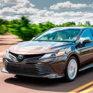 HAPPY RETURN: The new Toyota Camry