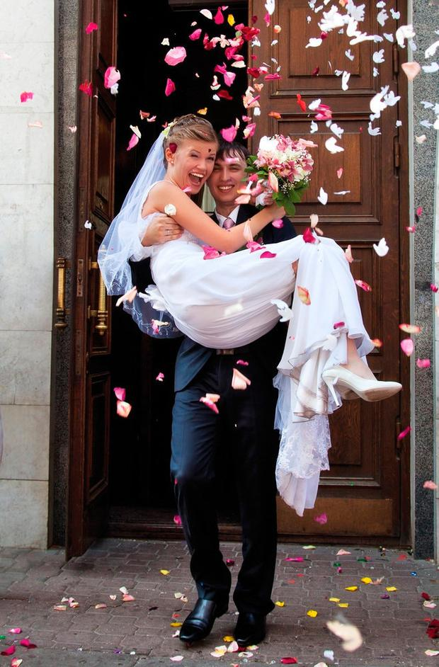 CHANGING TIMES: Couples are predicted to get married later and the nation's matrimonial rate is also set to decline. Stock picture