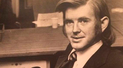 OUTSPOKEN: Alan Wilkes made no bones about being unimpressed by political corruption