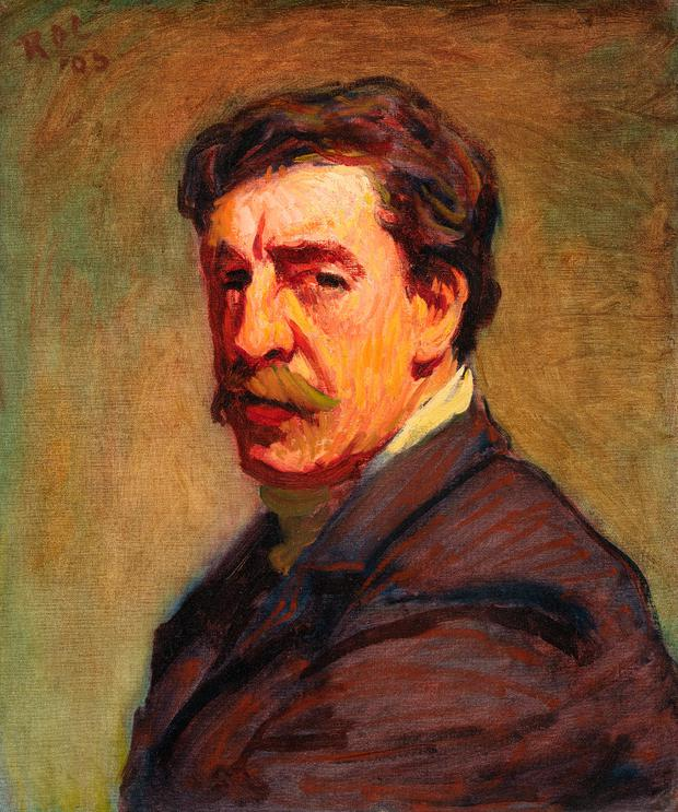 THE ARTIST: Roderic O'Conor Self-Portrait (1903). Photo © National Gallery of Ireland
