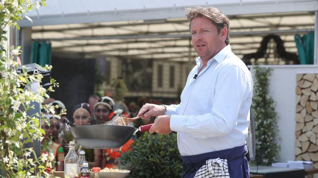James Martin: I may have placed a bet on myself landing Top Gear job (Jonathan Brady/PA)
