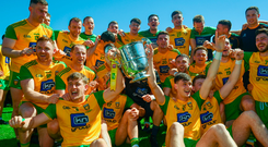 Donegal hammered Fermanagh to win the Ulster title
