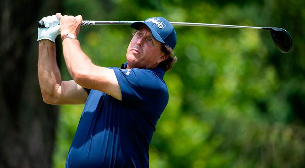 Phil Mickelson calls two-shot penalty on himself just weeks after US Open controversy