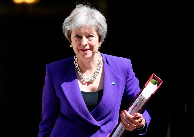 UK Prime Minister Theresa May Photo: REUTERS