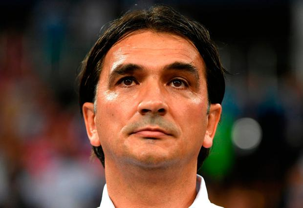Croatia coach Zlatko Dalic Photo: Shaun Botterill/Getty Images