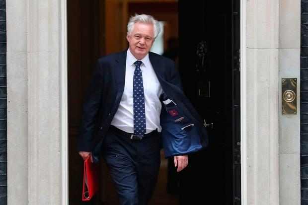 Theresa May's Cabinet in crisis as David Davis resigns over Brexit plan