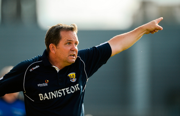 7 July 2018; Wexford manager Davy Fitzgerald during the GAA Hurling All-Ireland Senior Championship Preliminary Quarter-Final match between Westmeath and Wexford at TEG Cusack Park in Mullingar, Co. Westmeath. Photo by Diarmuid Greene/Sportsfile