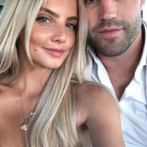 Joanna Cooper and boyfriend Conor Murray in Portugal. Picture: Instagram