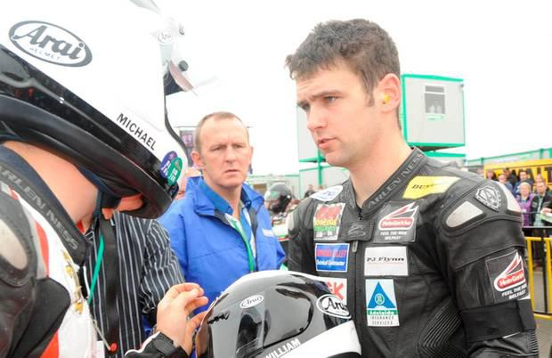 William Dunlop, who died in a crash during the Skerries 100 Photo: PACEMAKER PRESS