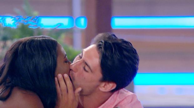 Samira and Frankie have been coupled up on the show (ITV)