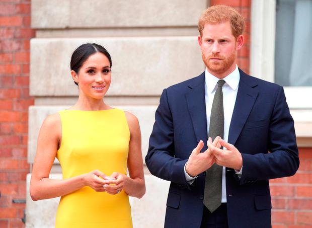 Armed gardai will be protecting Prince Harry and Meghan Markle