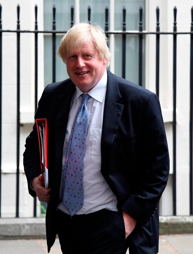 Boris Johnson: Reuters