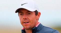 Rory McIlroy won't be playing in this week's Scottish Open at Gullane. Photo: Niall Carson/PA