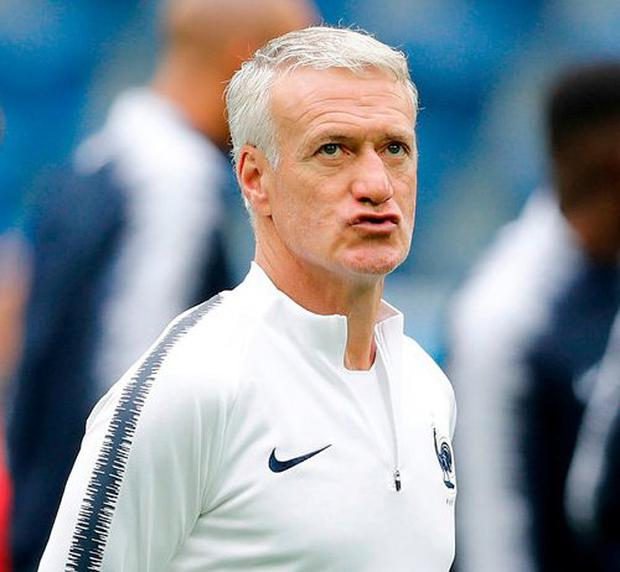 France headcoach Didier Deschamps. Photo: David Vincent/AP Photo
