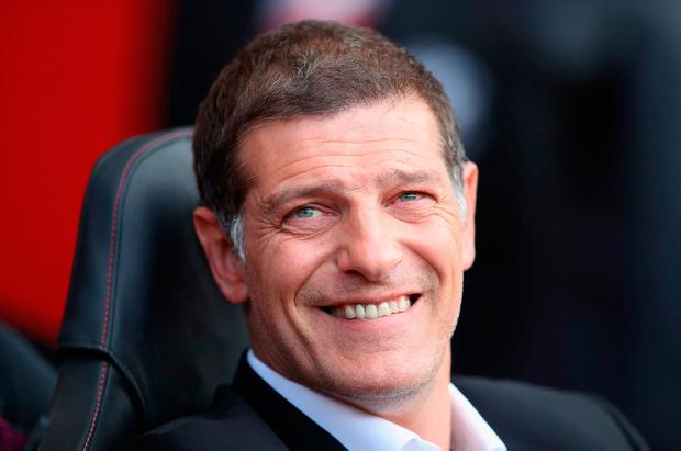 Croatia's former defender and coach Slaven Bilic. Photo: Julian Finney/Getty Images