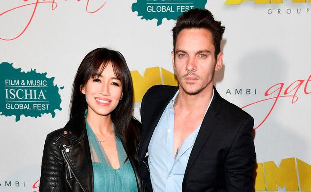 Jonathan Rhys Meyers and his wife Mara Lane were flying from Miami to Los Angeles. Photo: Getty Images