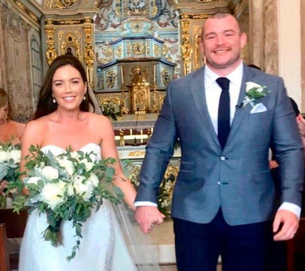Rugby Star McGrath Ties The Knot In Portugal