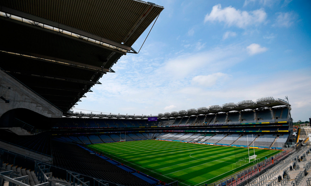 More than 100,000 are expected at Croke Park this weekend. Photo: Sportsfile