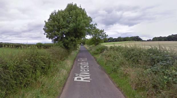 Incident happened on the Riverside Road. Pic: Google Maps