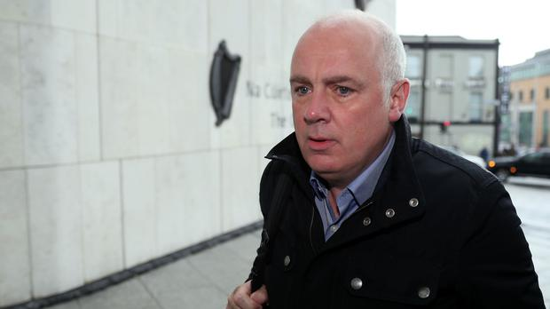 Former Anglo Irish Bank executive David Drumm (Brian Lawless/PA)