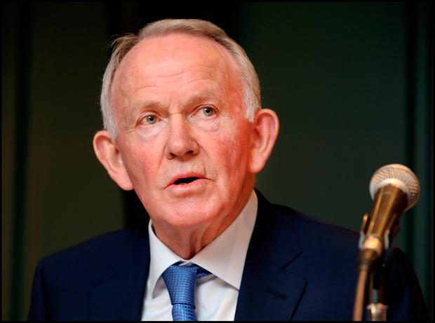 Former INM chairman Leslie Buckley: the ODCE claims he put senior executives under pressure to pay an inflated price for Newstalk radio station. Photo: Steve Humphreys