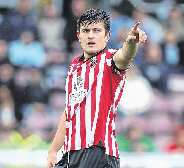 'The first thing he did was burst Craig Bellamy in a tackle' - Dave McAllister on Harry Maguire. Photo: Pete Norton/Getty Images