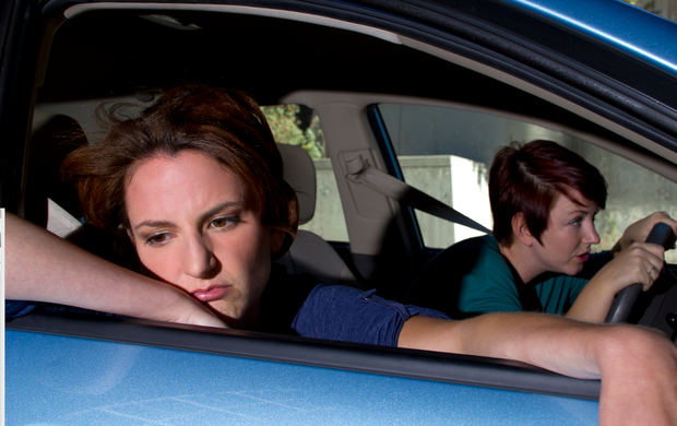 Anyone can get motion sickness, although children and pregnant women are especially vulnerable. Stock photo: Deposit photos