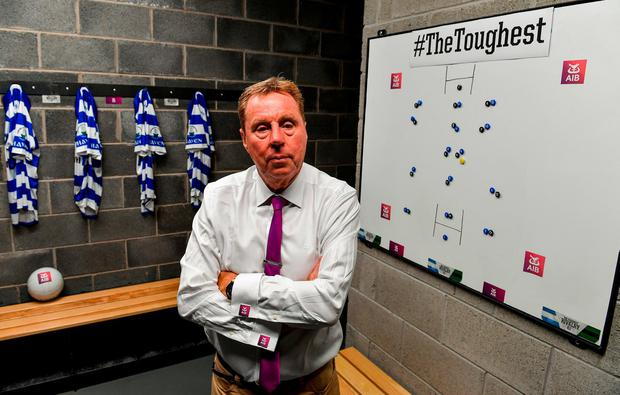 Harry Redknapp, pictured at the launch of AIB's new series, The Toughest Rivalry.