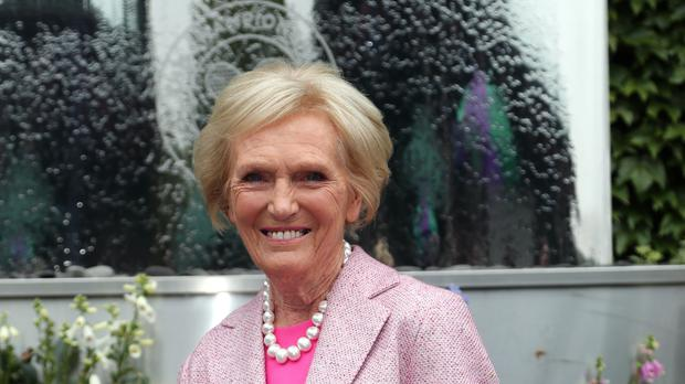 Mary Berry is among 12 new names to feature on this year's BBC salary list (Gareth Fuller/PA)