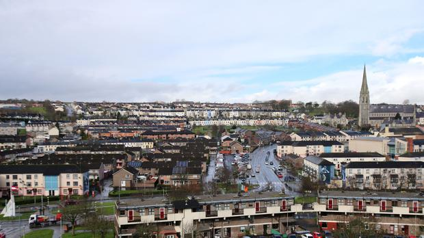 A general view of the Bogside area of Derry (Niall Carson/PA)