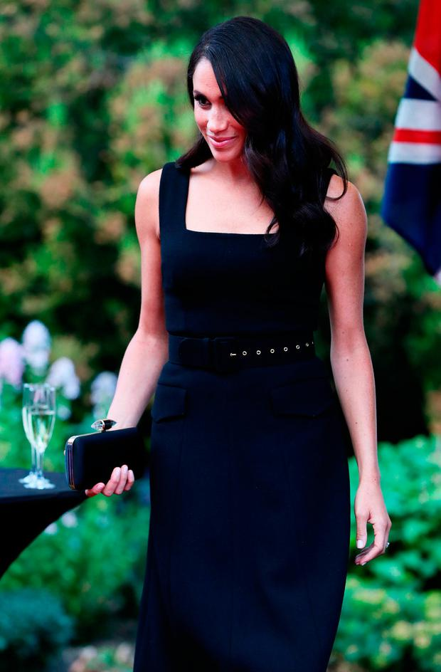 The Duke and Duchess of Sussex attend a Summer Party at the British Ambassador's residence at Glencairn House, during a visit to Dublin, Ireland