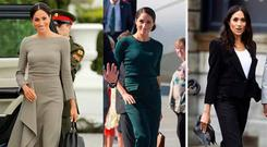 Meghan Markle's couture wardrobe in Dublin