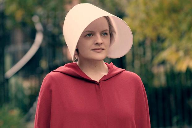 Star of the Handmaid's Tale TV series - Elisabeth Moss