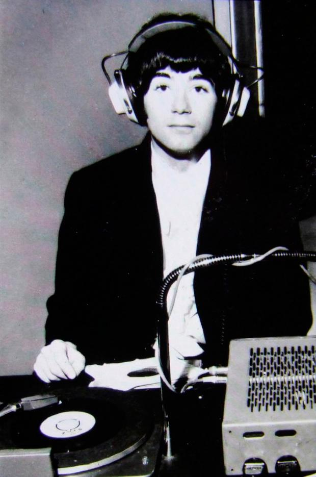 BP Fallon DJing in 1965