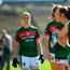 24 June 2018; Cora Staunton of Mayo during the parade prior to the TG4 Connacht Ladies Senior Football Final match between Mayo and Galway at Elverys MacHale Park in Castlebar, Mayo. Photo by Seb Daly/Sportsfile