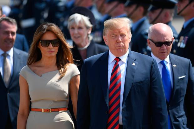 Donald Trump's Entourage: ONE THOUSAND Staff Join President On UK Visit