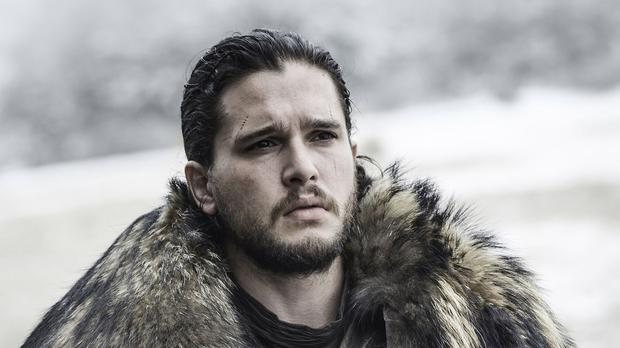 Kit Harington as Jon Snow in Game of Thrones (HBO/Sky)