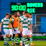 Shamrock Rovers players leave the pitch after defeat to AIK