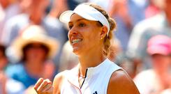 Angelique Kerber. Photo: Michael Steele/Getty Images