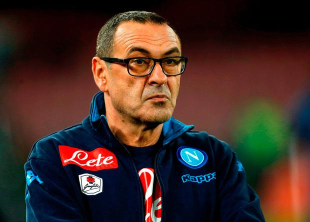 SARRI: Tipped for Chelsea. Photo: Reuters