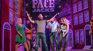 Some of the cast of Copper Face Jacks: The Musical. Picture: Arthur Carron/Julien Behal Photography