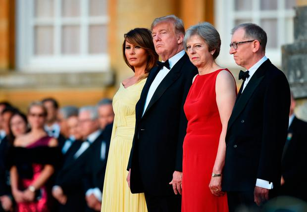 Trump's trip to the United Kingdom  has many hallmarks of a state visit
