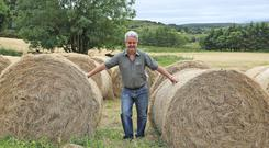 Farmer Kevin Comiskey at his farm at Doonkelly, Co. Leitrim. Photo: Lorraine Teevan