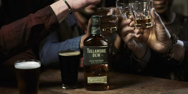 England, Belgian, Croatian and French fans can all enjoy a complimentary Tullamore D.E.W. this weekend